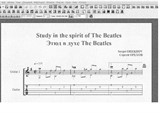 Study in the spirit of The Beatles